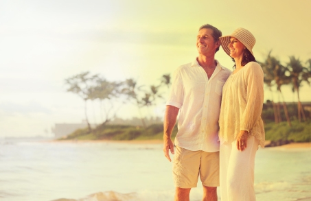 Couple on the Beach at Hilo